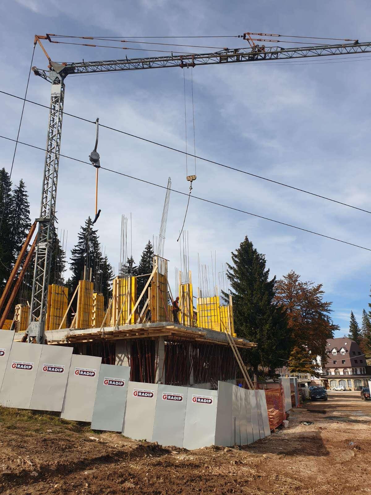 Stanje na gradilistu Poljice oktobar 2020